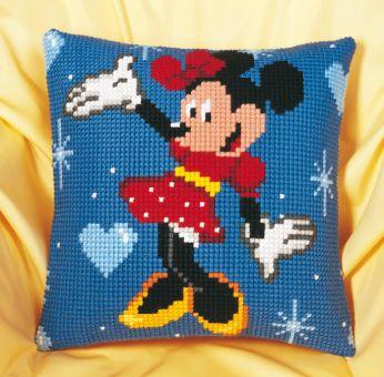 Vervaco Disney Kreuzstichkissen - Minnie Mouse PN-0014584