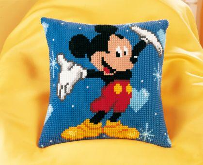 Vervaco Disney Kreuzstichkissen - Mickey Mouse