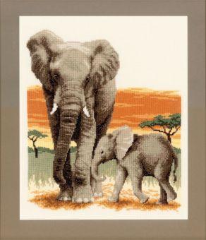 Vervaco - Elephants