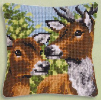 Vervaco Cross Stitch Cushion Kit - PN-0146175