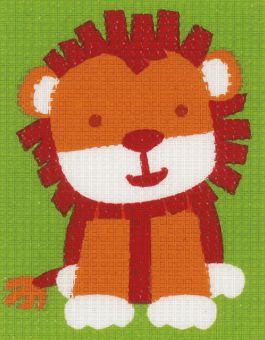 Vervaco - Kinderstickpackung Löwe