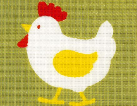 Vervaco - Huhn Anfängerstickpackung 2554