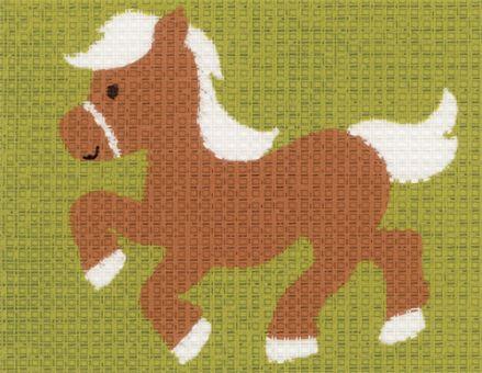 Vervaco - Pferd Anfängerstickpackung 2554
