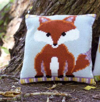 Vervaco Cross Stitch Cushion Kit - 0149234