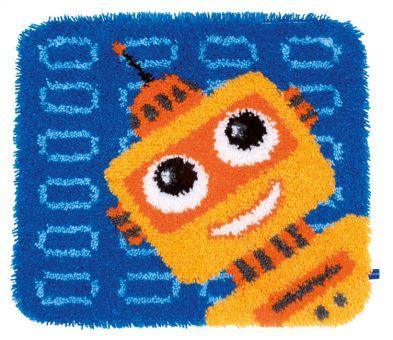 cross stitch corner vervaco kn pfpackung verspielter roboter. Black Bedroom Furniture Sets. Home Design Ideas