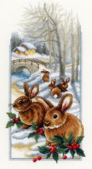 Vervaco - Rabbits in the snow