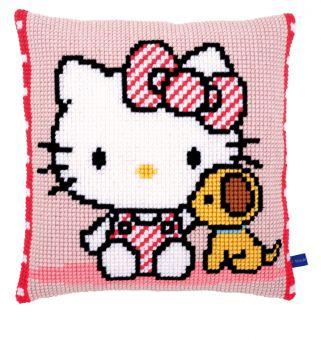 Vervaco Kreuzstichkissen Hello Kitty - PN-0155877