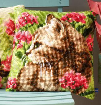 Vervaco Cross Stitch Cushion Kit - PN-0155961
