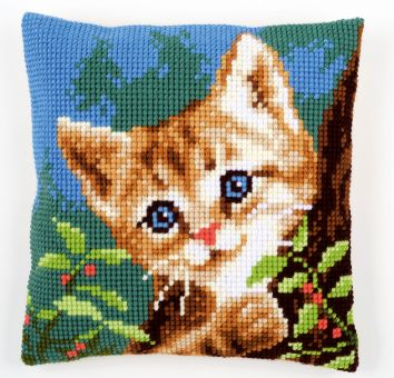 Vervaco Cross Stitch Cushion Kit - PN-0156599