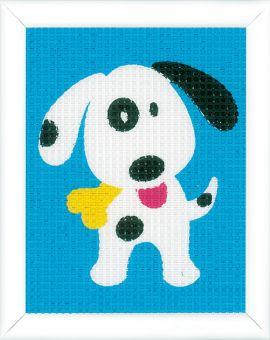 Vervaco - Kinderstickpackung Lustiger Hund