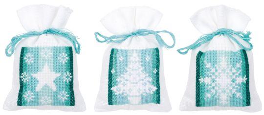 Potpurri Bag - Bag kit Winter set of 3