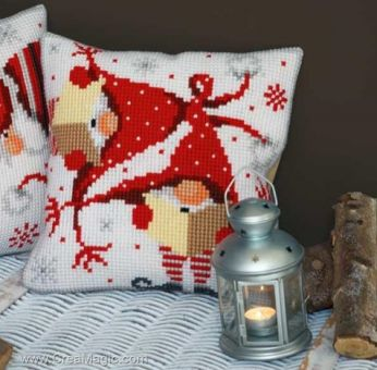 Vervaco Cross stitch Cushion - PN-0164611