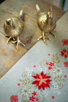 Vervaco - TABLE RUNNER KIT CHRISTMAS