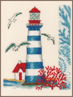 Vervaco - COUNTED CROSS STITCH KIT LIGHTHOUSE