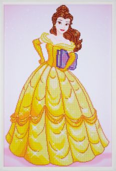 Super SALE Diamond Painting by Vervaco - DISNEY BEAUTY
