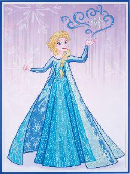 Diamond Painting by Vervaco - DISNEY ICE MAGIC ELSA