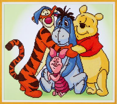 Diamond Painting by Vervaco - ISNEY POOH WITH FRIENDS
