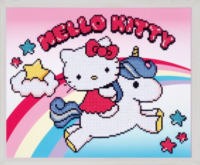 Diamond Painting by Vervaco - HELLO KITTY WITH UNICORN
