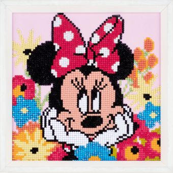 Super SALE Diamond Painting by Vervaco - DISNEY MINNIE DAYDREAMING