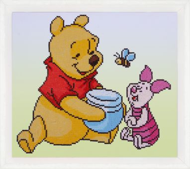 Diamond Painting by Vervaco - DISNEY POOH WITH PIGLET
