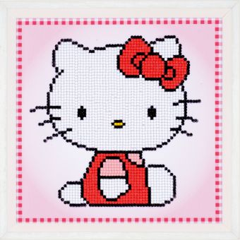 Diamond Painting by Vervaco - HELLO KITTY