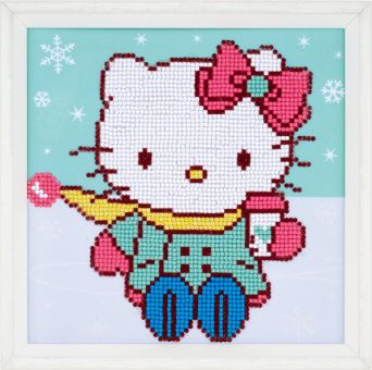 Diamond Painting by Vervaco - HELLO KITTY IN THE SNOW