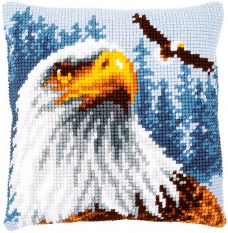 Vervaco - CROSS STITCH CUSHION KIT EAGLE