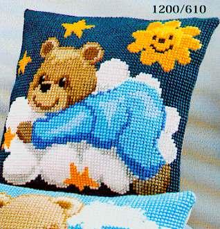 Vervaco Cross Stitch Cushion Kit - 1200-610