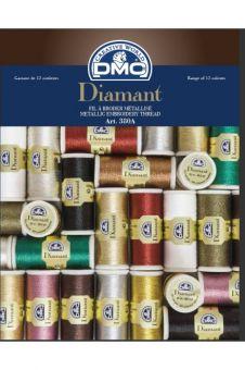 DMC Floss Color Card Diamond floss 12 colors