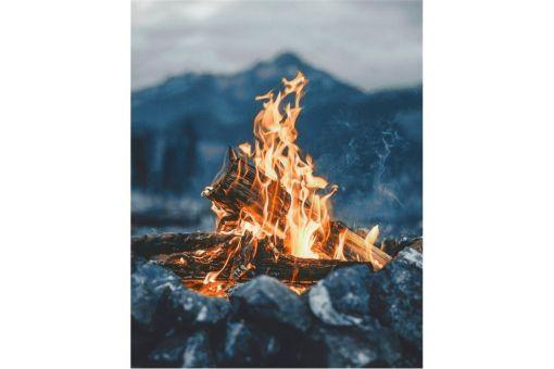 Diamond Painting Wizardi - BY THE FIRE