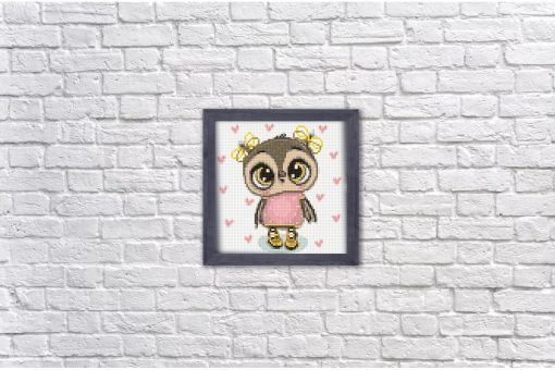 Diamond Painting Wizardi - OWL NIKA