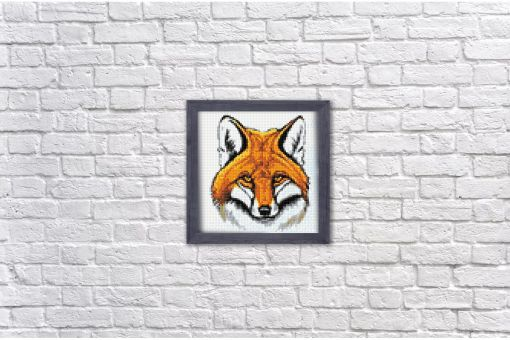 Diamond Painting Wizardi - RED FOX