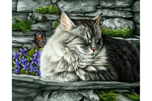 Diamond Painting Wizardi - MISSED BUTTERFLY