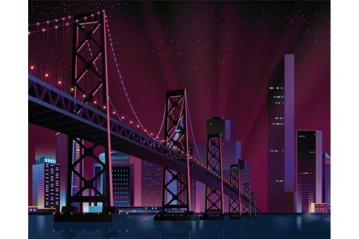 Diamond Painting Wizardi - CITY BRIDGE