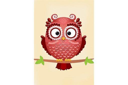 Diamond Painting Wizardi - OWL PHIL
