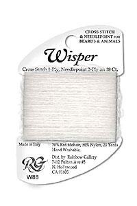 Rainbow Gallery - Wisper w88: weiß