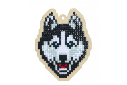 Diamond Painting Wizardi Wood Charms - HUSKY