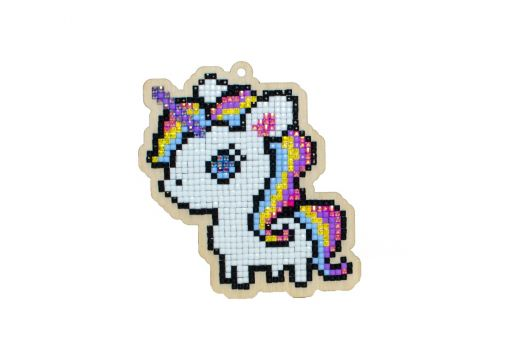 Diamond Painting Wizardi Wood Charms - MAGICAL UNICORN