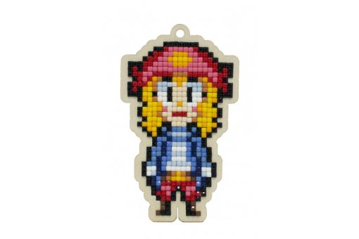 Diamond Painting Wizardi Wood Charms - PIRATESS