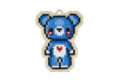 Diamond Painting Wizardi Wood Charms - BEAR FRED