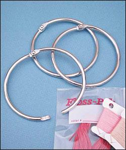 "Floss Pak. 3"" Metal Ring"