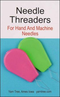 Color Wire Needle Threaders - Two per pack