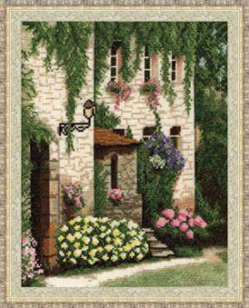 Zolotoe Runo - Haus mit Garten