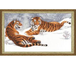 Zolotoe Runo - Zwei Tiger