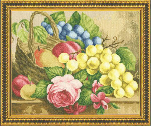 Zolotoje Runo - Basket Full Of Fruits And Flowers