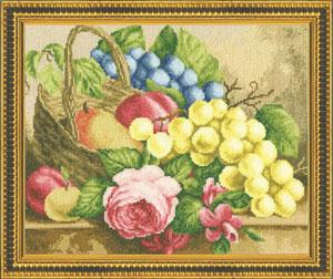 Zolotoe Runo - Obst- und Blumenkorb