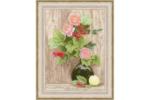Zolotoe Runo - VIBURNUM AND ROSES