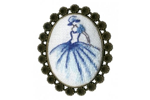 Zolotoje Runo - DANCER BROOCH