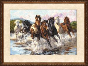 Zolotoe Runo - Durch das Wasser