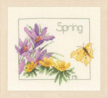 PN-0007953 Four Seasons Counted Cross Stitch Kit Lanarte